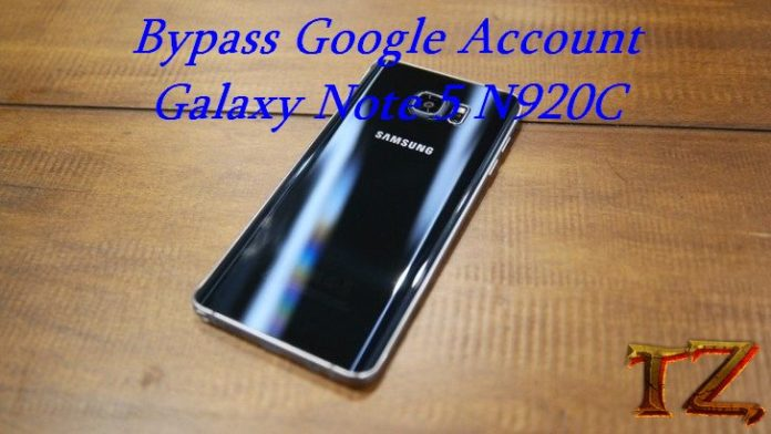 bypass Google account Galaxy Note 5 N920 level 4
