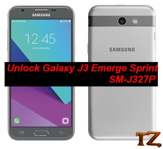 unlock Samsung Galaxy J3 Sprint