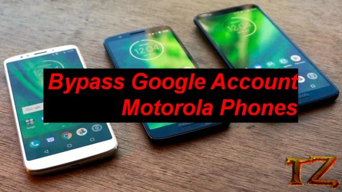 bypass Google Account on Motorola phones