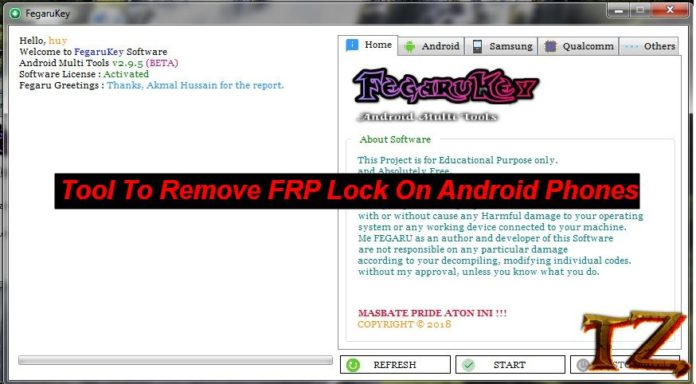 remove FRP lock on Galaxy phones