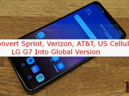 convert US LG G7 into global version