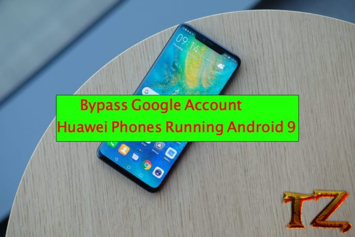 FRP bypass Huawei devices Android 9