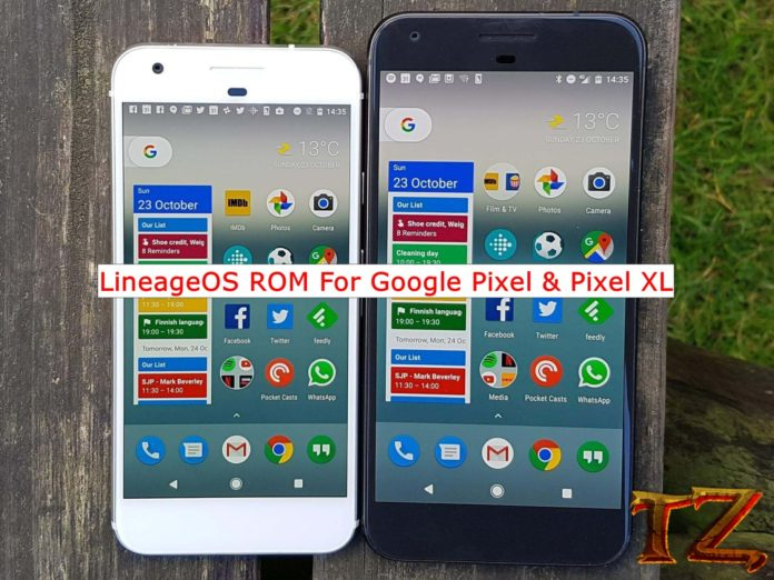 Android Pie ROM for Google Pixel/Pixel XL