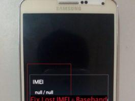 fix lost IMEI