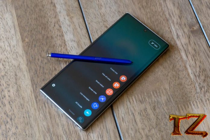 battery on Galaxy Note 10