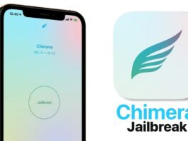 Chimera jailbreak tool for iOS 12 has been updated